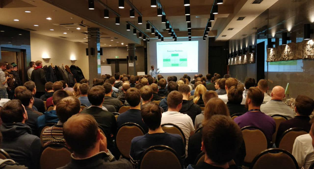 Vilnius JUG: The tech user groups is in Lithuania are growing