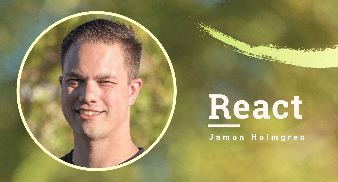 James Holmgren on the development of React