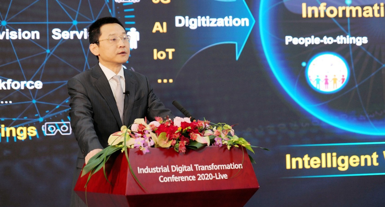 Huawei unveils 5 trends of an intelligent world 10 years' from now