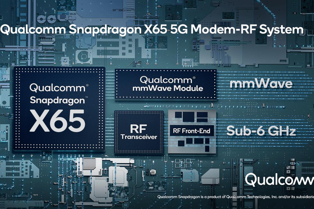 Qualcomm Announces World's First 10 Gigabit 5G Modem-RF System