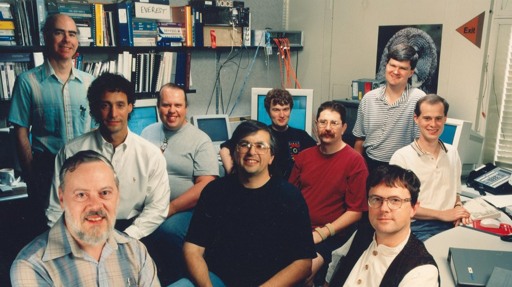 UNIX team reunited – Plan 9 from Bell Labs is now in Cyberspace