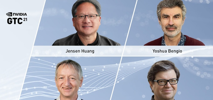 NVIDIA CEO Jensen Huang and AI Pioneers to Present at GTC21