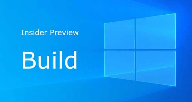 Here is the Windows 10 Insider Preview Build 21364