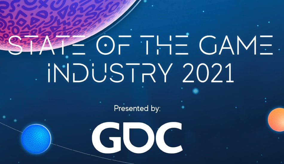 """What does the 2021 """"State of the Games Industry"""" report showed?"""