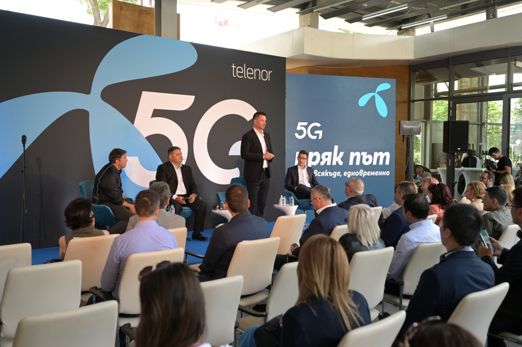 Telenor Officially Launches Commercial 5G Services in Bulgaria
