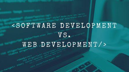 Web Developer vs Software Developer