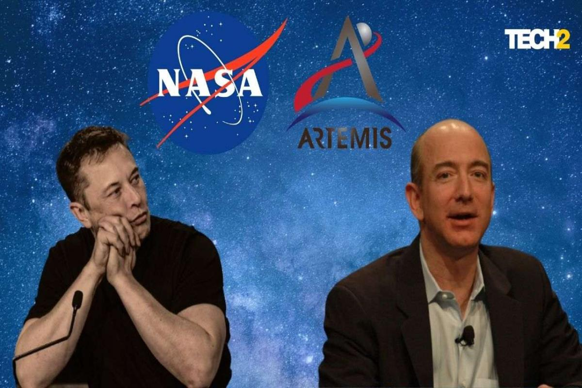 Bezos' Blue Origin Disapproves of Musk's Starship for NASA Moon Missions