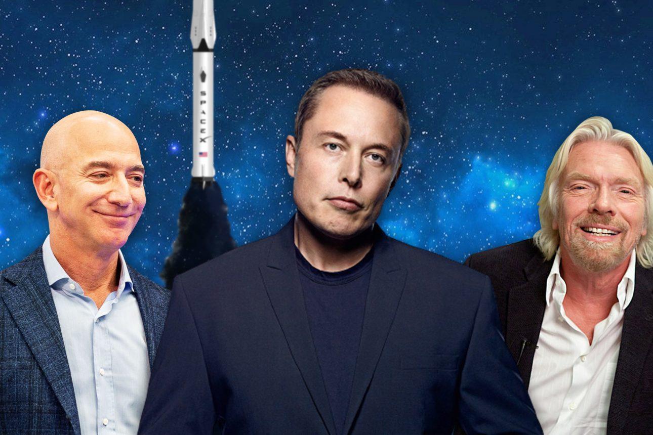 Jeff Bezos and Richard Branson congratulated Elon Musk on Inspiration4