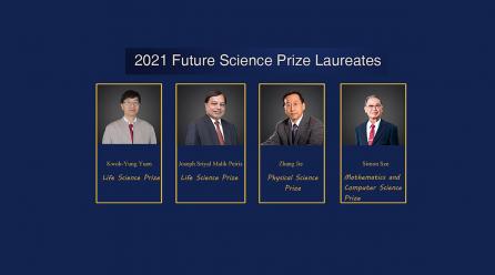 Simon Sze Wins Mathematics and Computer Science Award at 2021 Future Science Prize