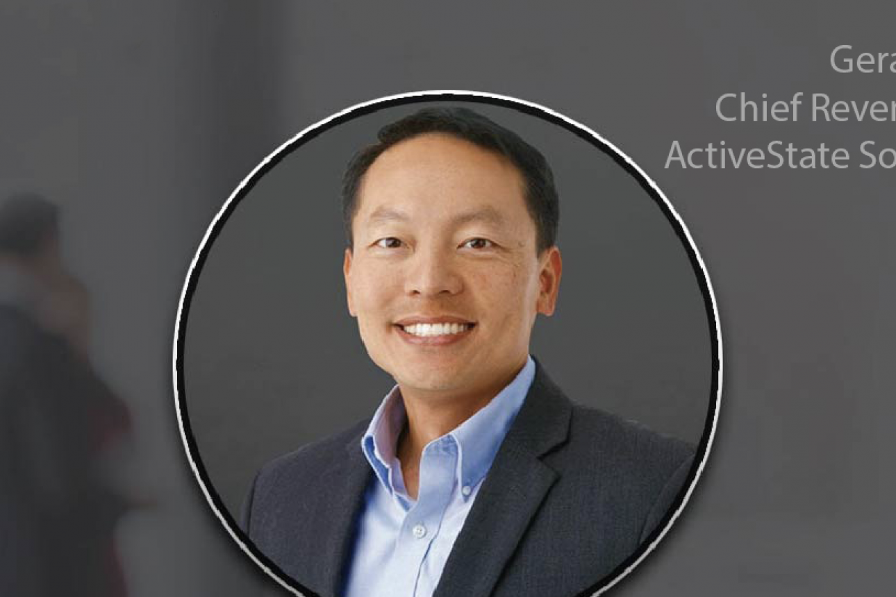 Gerald Choung is the New Chief Revenue Officer of ActiveState Software Inc.
