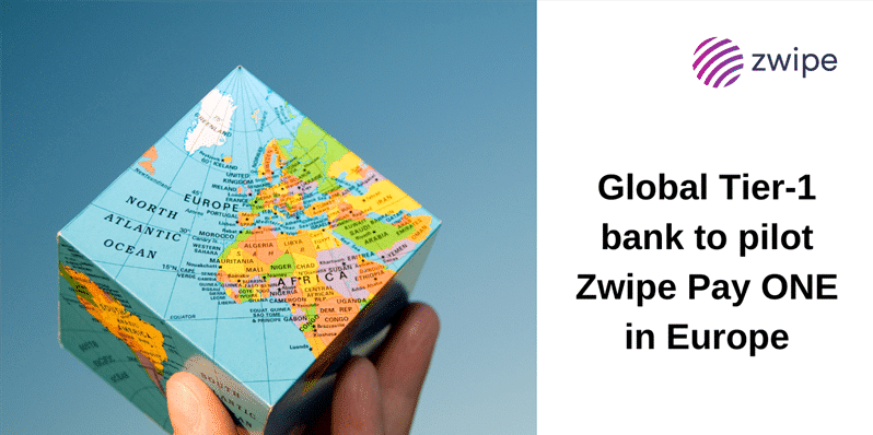 Global Tier-1 Bank to Pilot Zwipe Pay ONE Biometric Payment Cards
