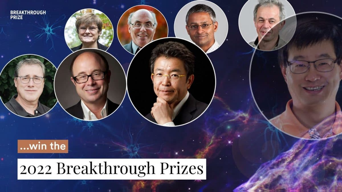 Winners of the 2022 Breakthrough Prizes in Life Sciences, Physics And Mathematics Announced