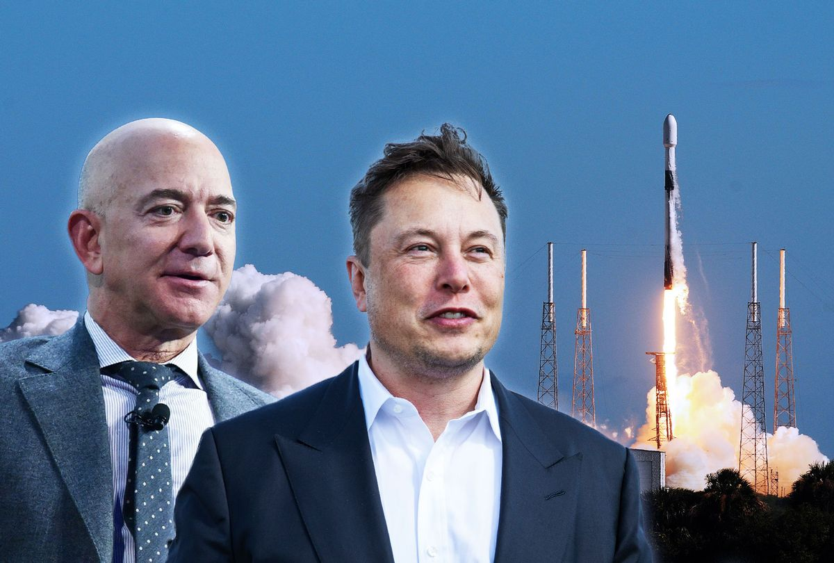 """The """"Fight"""" Between Elon Musk and Jeff Bezos Continues"""